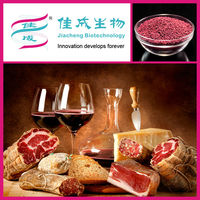 Food Color Plant Extract Red Fermented Rice Powder