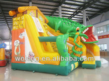 2014 high quality inflatabe bouncer house slide type inflatable slide sports game on sale !!!
