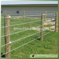 Hot wire ranch fence