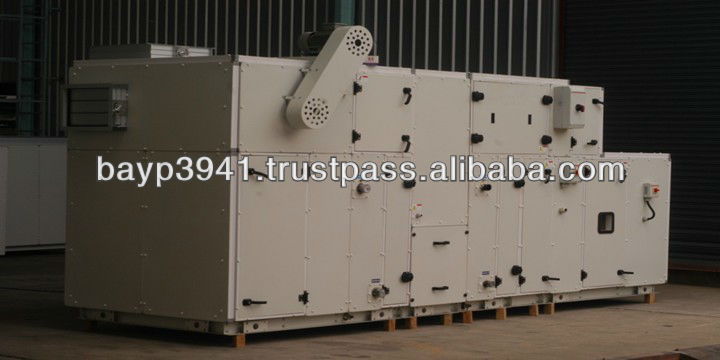 Integrated Air Handling Unit Industrial Dehumidifier