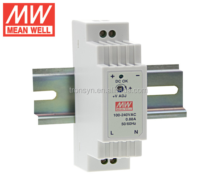 Meanwell Din Rail Power Supply DR-15-5 Small Switching Power Supply 220V 5V 15W