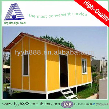prefabricated movable steel structure houses light steel house