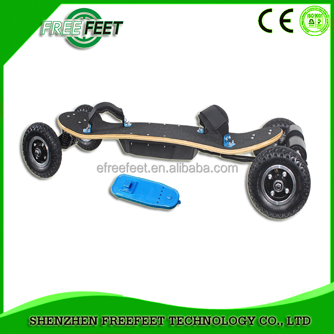 Cheap price diy 4 wheel carbon fiber dual motor off road hoverboard electric skateboard