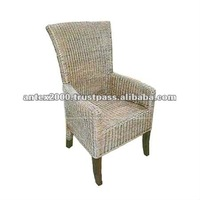 Desmond Wicker Dining Chair afwc 015 for indoor furniture