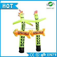 2016 Inflatable advertising custom size advertising inflatable air dancer/ tube man/mini desktop inflatable air dancer