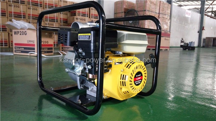 ISO approved 3.8hp engine water pump with diesel engine