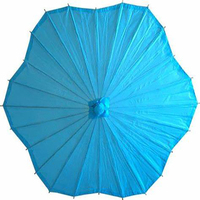 Promotional Outdoor Decorative Chinese Bamboo Paper Umbrellas