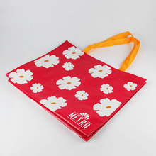 Pictures printing non woven shopping bag custom promotional bag