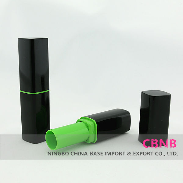 Black Plastic Lipstick Tube Of New Product 2014