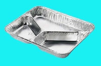 Insulated hot food containers, aluminium foil food container