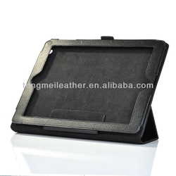 Ultra thin smart cover hot selling leather handle case for iPad ,leather handle case for iPad 2 3 4