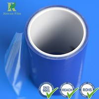 Manufacture Professional Plastic 174micron Polyethylene Blue Stretch Film
