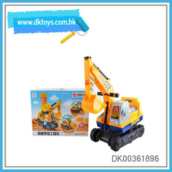 Scooter Digger Ride-On Construction Vehicle Kids Toy With EN71 ASTM Certificate