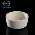 Customized Al2O3 Ceramic Crucible wear resistance un-explosive ceramic alumina crucible