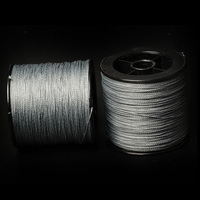 MEIRENYU 300M/spool fishing line braided 4 weave grey color used for wholesale