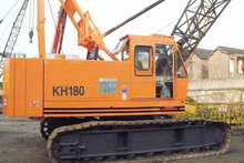 Used Hitachi crawler crane 50ton KH180, half new Japan origin Hitachi crawler crane 50ton, used 50 ton Hitachi crane price, hot!