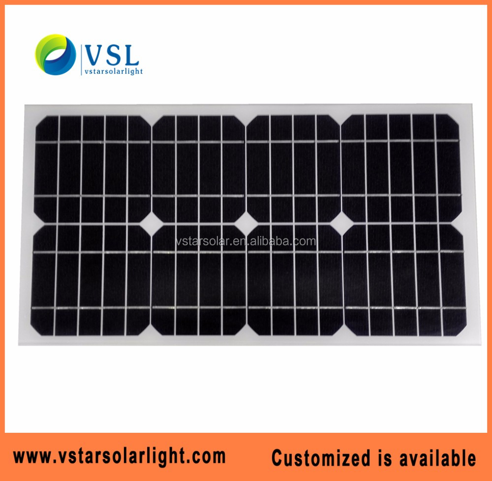 5W 10W 15W 20W 30w 50w Mono solar panel price for solar panel system solar street light