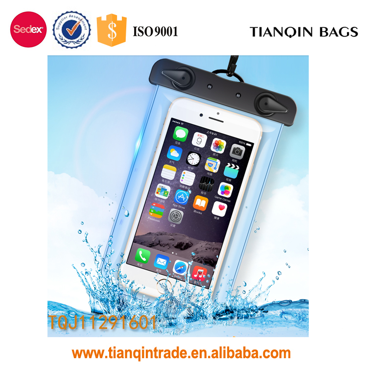 Tpu materail waterproof Phone Bag cell phone bags pouches