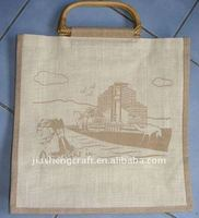 high quality jute favor bags