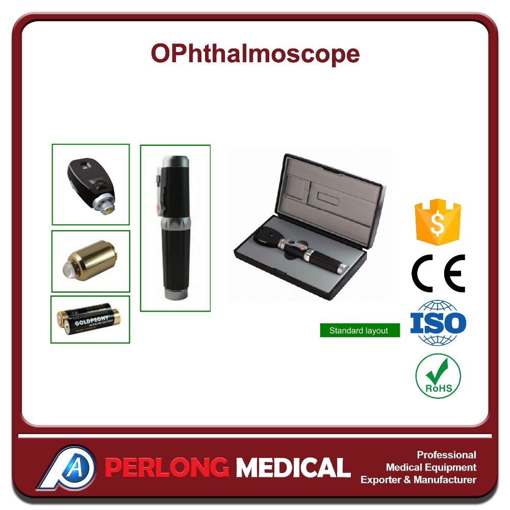 OP-1 Rechargeable direct ophthalmoscope, ent diagnostic set