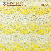 Wholesale Good Quality Nylon/Cotton/Rayon Strand Lace Fabric T8055