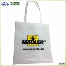 2017 Recyclable foldable blank non woven shopping bag