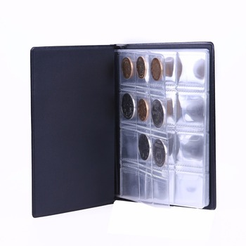 professional word currency padfolio, dollar bill storage album ,currency and coin collecting supplies