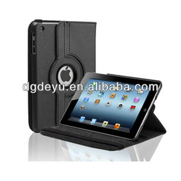 Rotate PU case for iPad Air