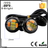 5630 6smd white amber double colors switch 12v led lights for cars daytime running light led eagle eye lamp