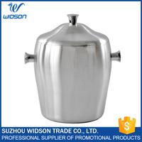 Double-wall stainless steel durable ice bucket metal barware