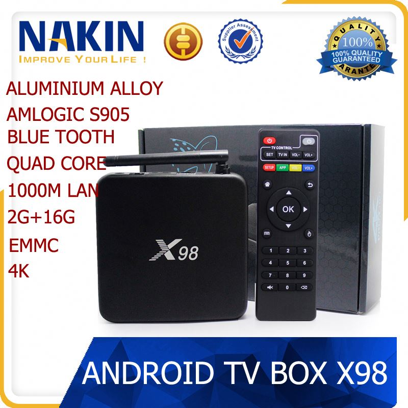 NAKIN New Arrival internet live tv box for free on-line tv channel full hd 1080 porn vs905 amlogic 4k M12 PRO android 5.1 tv box