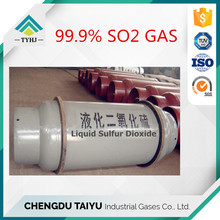 Industry grade 99.9% purity sulphur dioxide so2