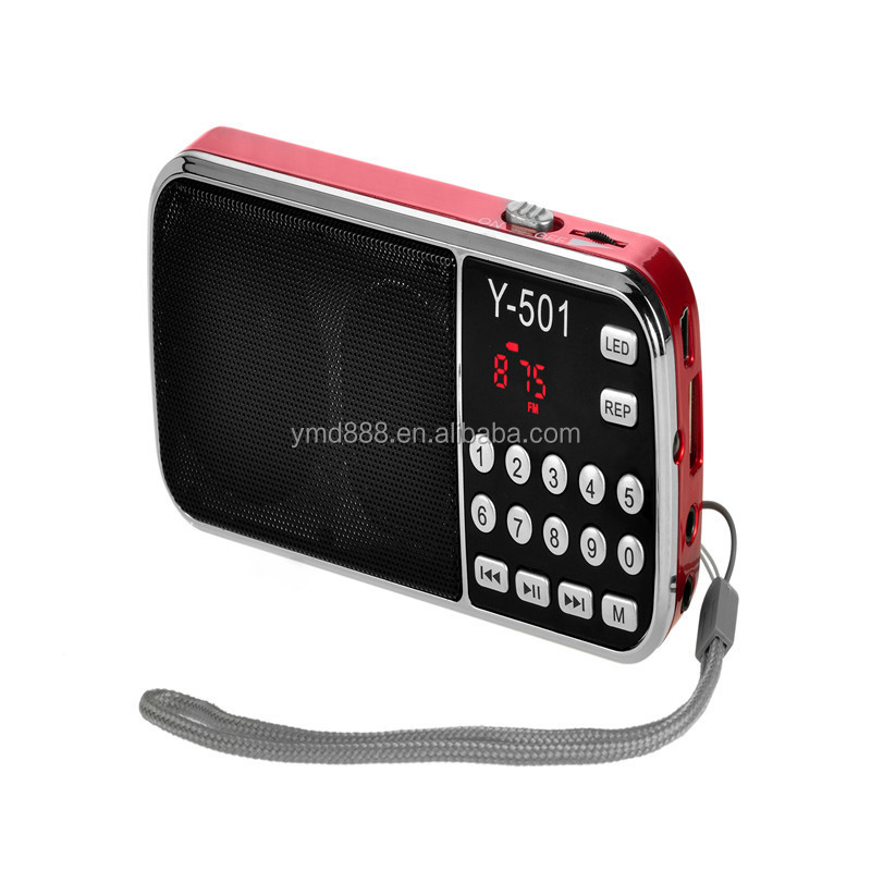 hot sell digital mp3 player with radio speaker