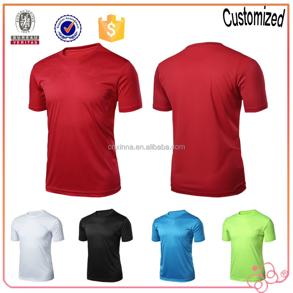 High quality custom logo blank t shirt quick dry t shirts Bulk quality t shirts