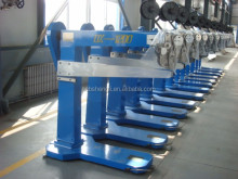 China corrugated carton machinery manufacture manual carton box folding stapling machine