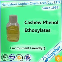 Cashew Phenol Ethoxylates used as emulsifiers, wetting agent, detergent, solubilizer with Environment friendly