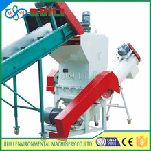 Powerful PVC PE PP PS ABS PC recycled plastic bottle can crusher price