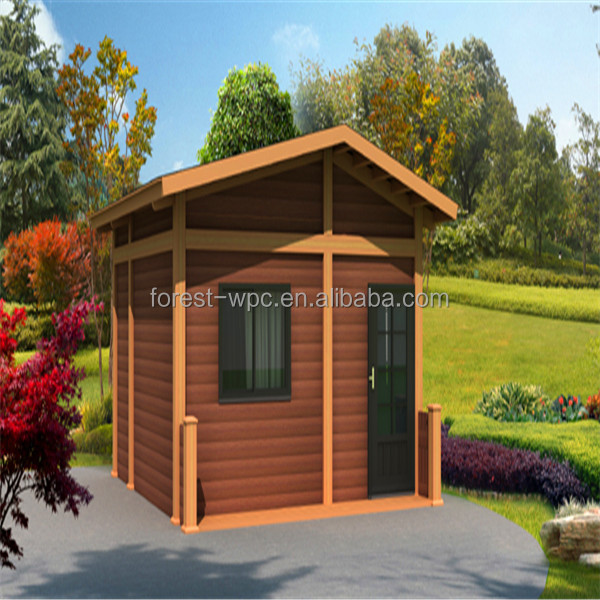 jiangsu forest wpc technology co.,ltd / Hot sale movable wpc garden house / High Quality Movable Wpc Garden House for sale