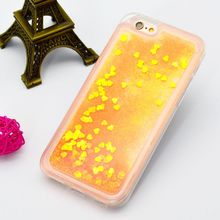 Mobile Phone case Wholesale Quicksand Glitter Liquid TPU Phone case For Iphone 6 and 6s