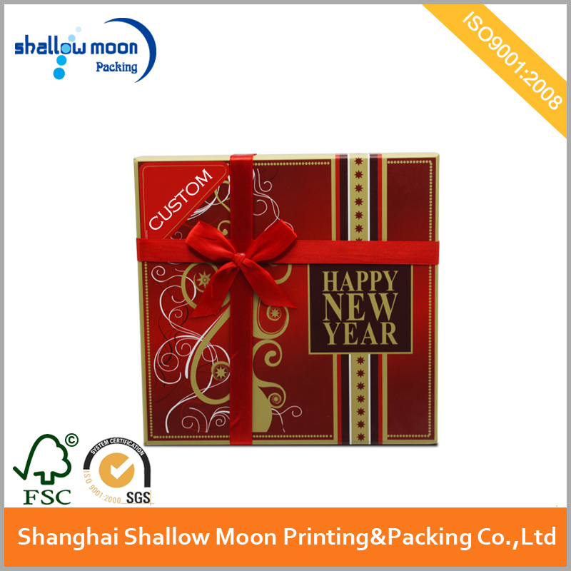 OEM new year gift packaging box