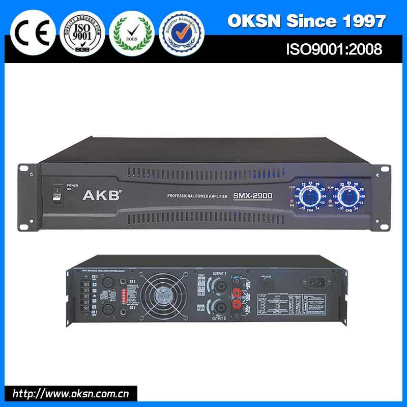 AKB SMX-2300 large outdoor party stereo power amplifier
