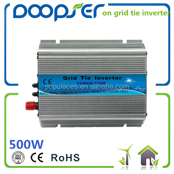 500va mmp solar inverter with solar panels on grid 1000va