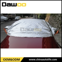 Heated Resistance Waterproof Half Top Car Cover