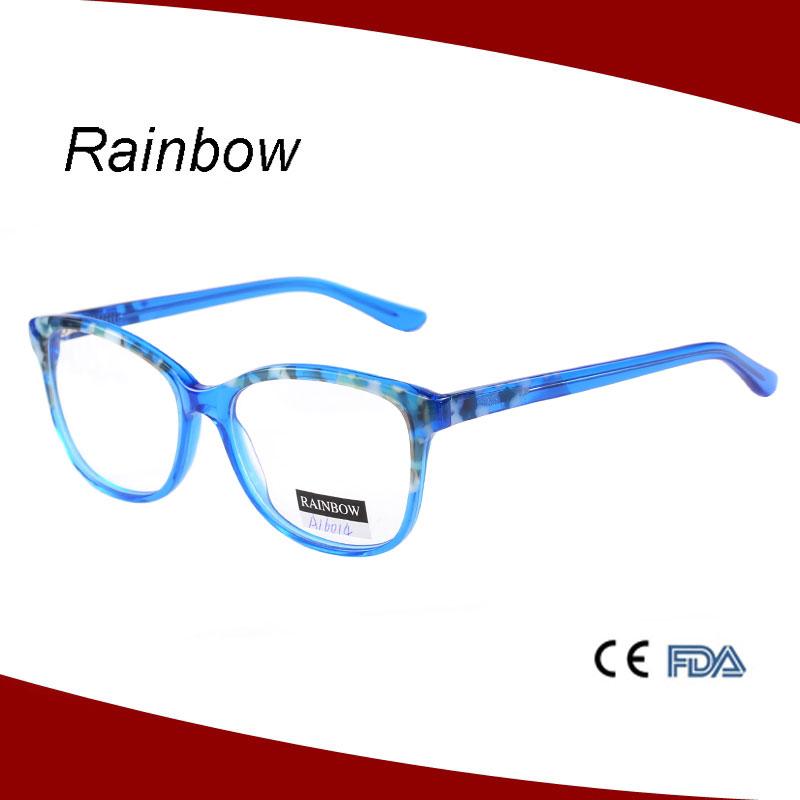 Combine Color Diamond Face Shape Match Optical Acetate ...