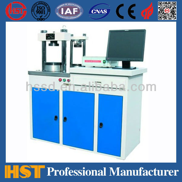 YAW-C Computerized Brick Concerte Cube Compression bending Testing equipment
