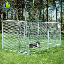 welded wire mesh large dog cage/dog run kennels/dog run fence panels