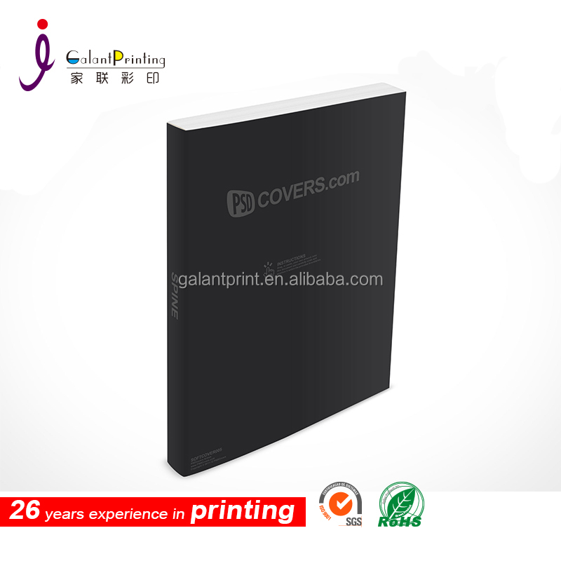 Offset Printing Type and Soft Cover Book Printing Cover coffee table wedding books