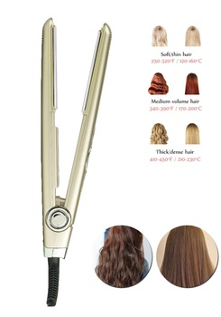 Hair brush styler hair curler iron many size gold hair curler