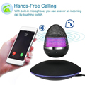 Portable Multifunctional Wireless levitation Bluetooth Speaker Handsfree Touch LED Bedroom Lamp Bluetooth speaker