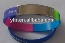2014 promotional silicone bracelets for child and adult